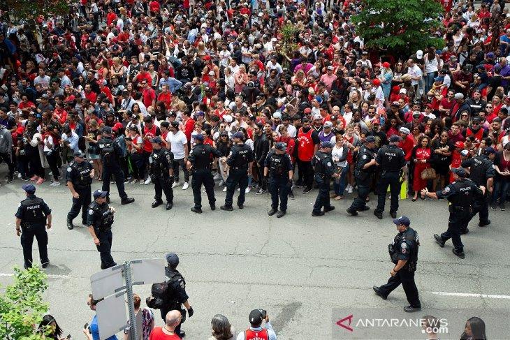 Aksi penembakan terjadi di tengah parade juara Raptors
