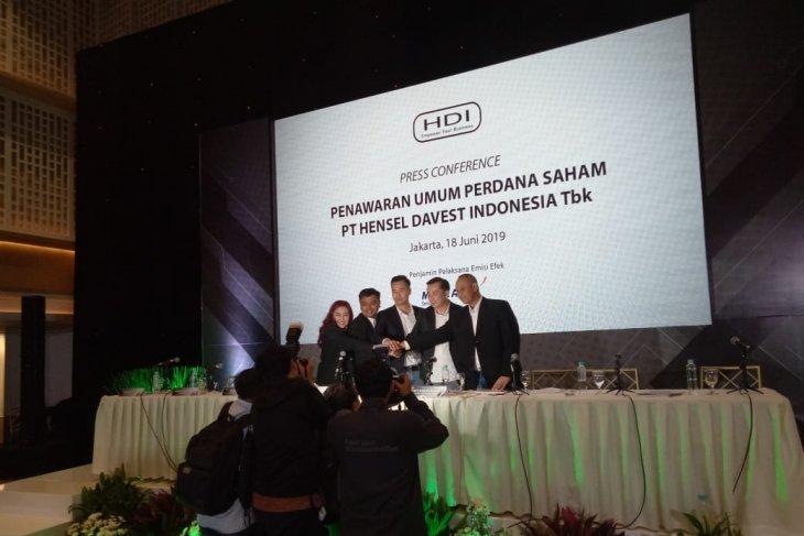 Hensel Davest Indonesia ingin mengembangkan bisnis dari hasil IPO