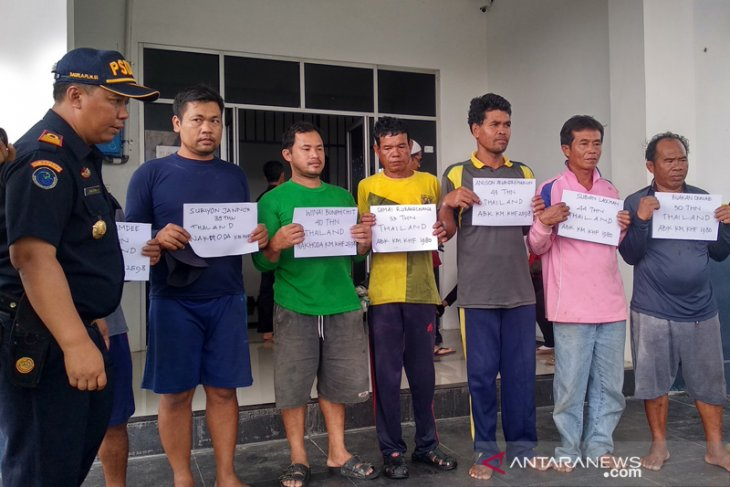 Dua nelayan Thailand divonis denda Rp200 juta