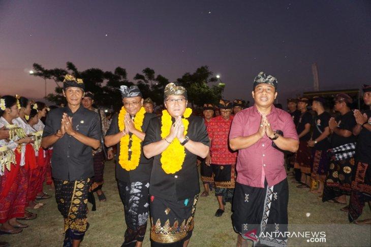 Warga desa di Badung ikuti Porseni Desa