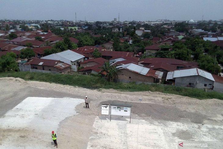 Ini dia lahan jalan tol Helvetia-Tanjung Mulia yang masih terkendala