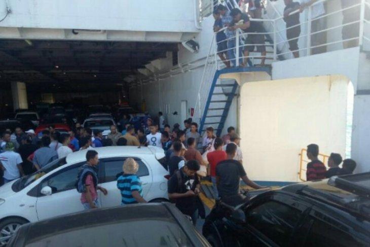 Waduh, Avanza tercebur ke Laut Sunda dari kapal feri
