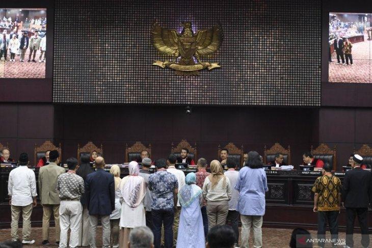 Sidang MK, Saksi Prabowo-Sandi mengaku dapat intimidasi