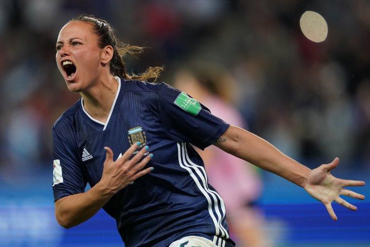 Skotlandia tersingkir setelah Argentina bangkit di Piala Dunia Putri