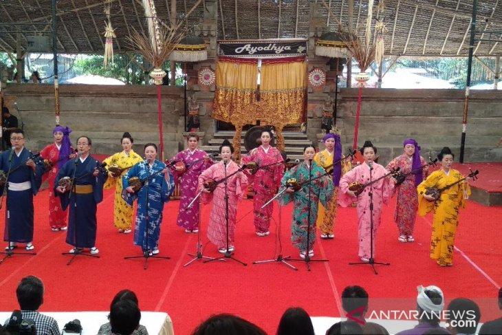 Di Pesta Kesenian Bali,  seniman Bali dan Jepang berkolaborasi (video)