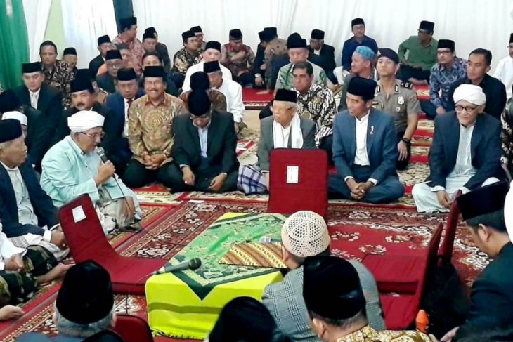 Jokowi was witness at marriage of PBNU's daughter