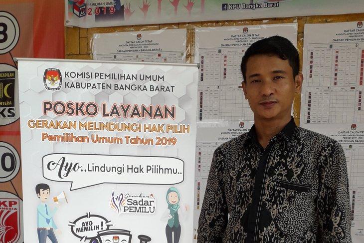 KPU Bangka Barat kurangi jumlah TPS jelang Pilkada