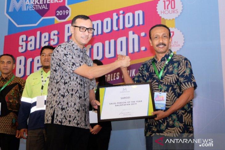 Pupuk Kaltim Raih 3 Penghargaan Bidang Pelayanan dan Promosi Produk