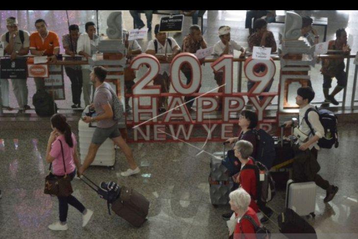 2,3 juta wisman kunjungi Bali lewat Bandara Ngurah Rai