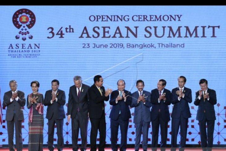 Kepala negara se ASEAN apresiasi Indonesia terkait Outlook Indo-Pasifik
