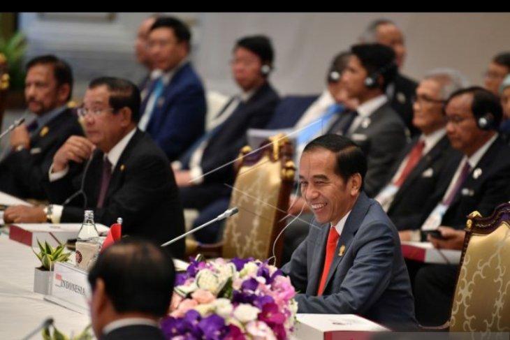 Kepala negara tekankan penguatan bangunan ekonomi negara anggota ASEAN