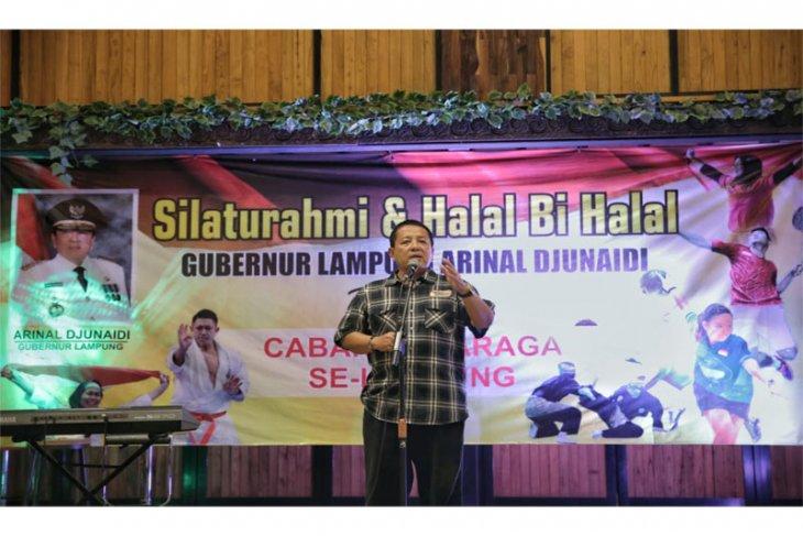 Arinal Konsisten dan Serius Memajukan Olahraga Lampung