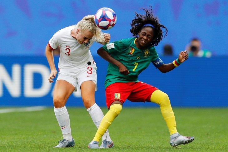 Inggris melaju ke babak delapan besar usai libas Kamerun 3-0