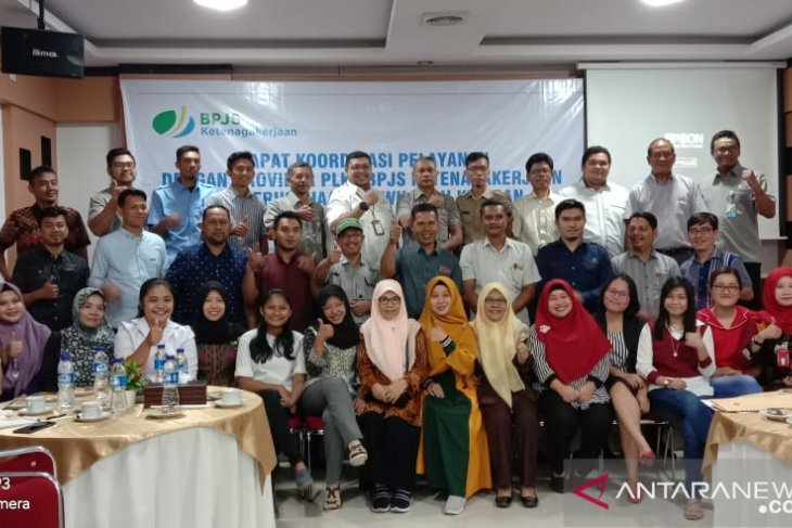 BPJS Ketenagakerjaan Kisaran gelar rakor bersama  Provider PLKK