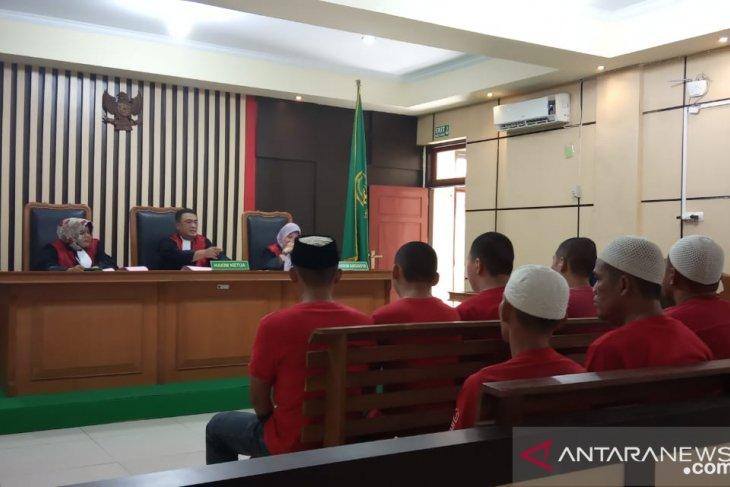 WNA penyelundup benih lobster divonis Pengadilan Jambi 15 bulan penjara