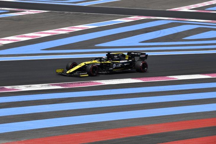 Ricciardo diganjar penalti ganda usai  GP Prancis