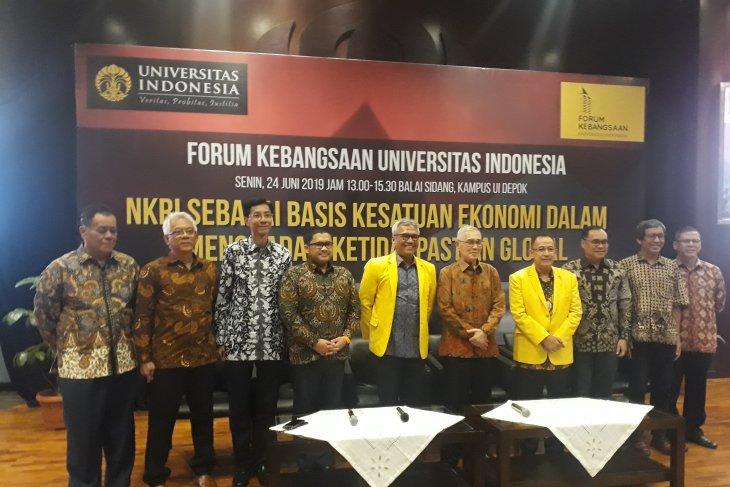 UI gelar Forum Kebangsaan tentang basis kesatuan ekonomi