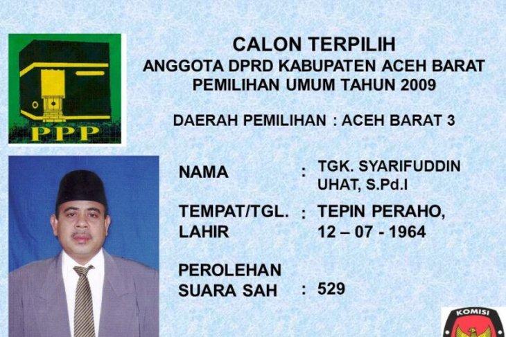Ketua DPC PPP Aceh Barat tutup usia karena  sakit