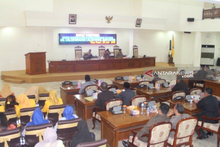 DPRD Paser tetapkan dua pengganti Wabup Mardikansyah