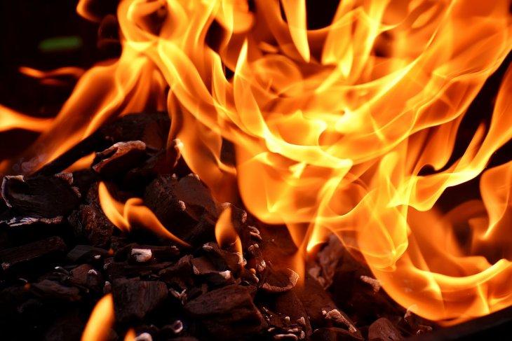 Ruang penyimpanan peluru di Polda Metro terbakar