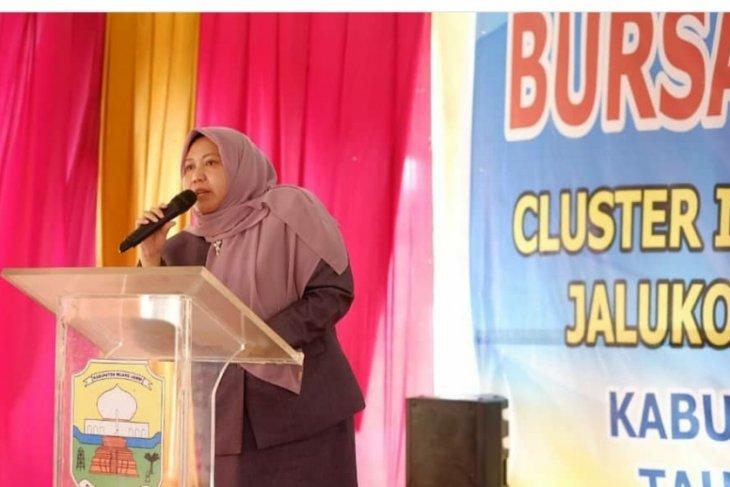 Bupati Masnah buka Bursa Inovasi Desa