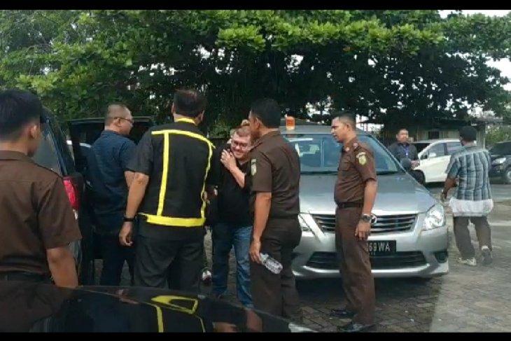 Gusti Hersan akhirnya ditangkap Kejari Pontianak di Danau Sunter Jakarta