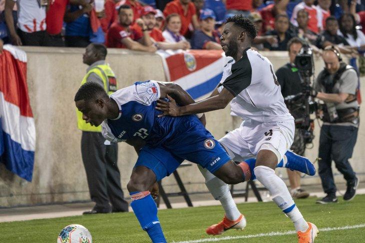 Haiti kalahkan Kosta Rika 2-1 pada  Piala Emas