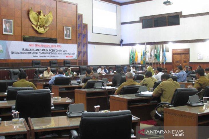 Parlementaria - DPRA harapkan kehadiran BUMA mampu tingkatkan  PAD