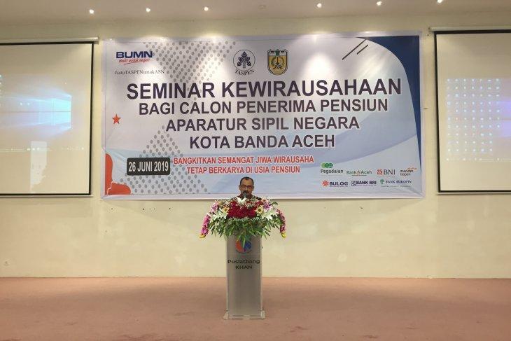 Taspen gelar seminar kewirausahaan pertama di  Aceh