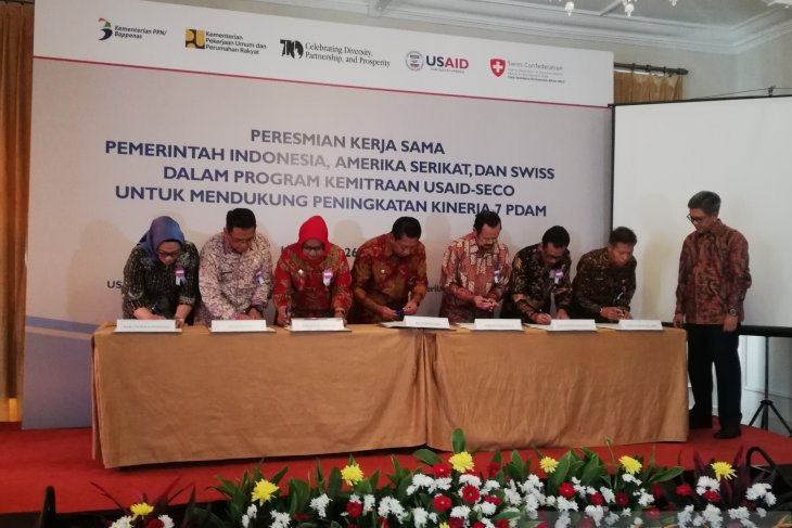 Switzerland to train PDAM staff in water management