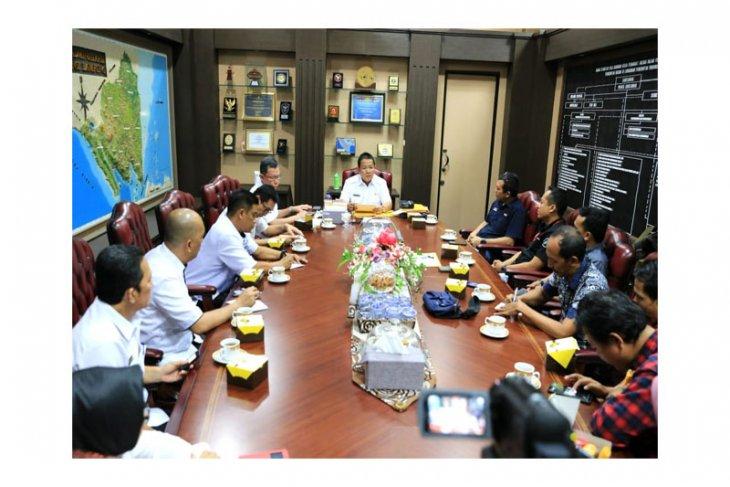 Gubernur Lampung Arinal Djunaidi Bangun Sinergitas Dengan Media Nasional