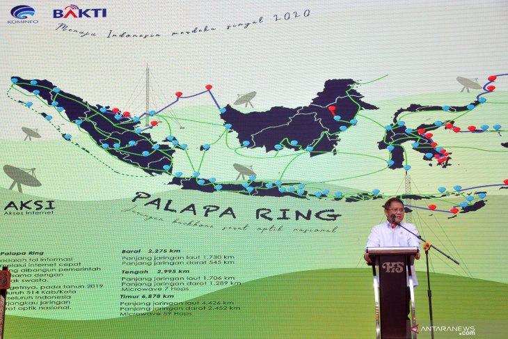 Rudiantara: Palapa Ring paket timur selesai