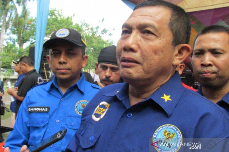 BNN Aceh confiscated 2.47 tons methamphetamine since 2017