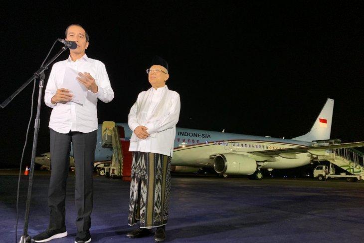 Jokowi berterima kasih pada MK yang sudah putus sengketa dengan adil