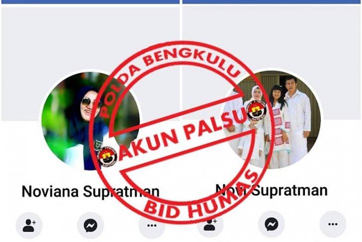 Pembuat akun Facebook palsu atas nama Kapolda Bengkulu diciduk