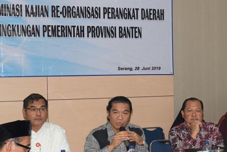 Sekda Banten dorong SOTK kaya fungsi hemat struktur