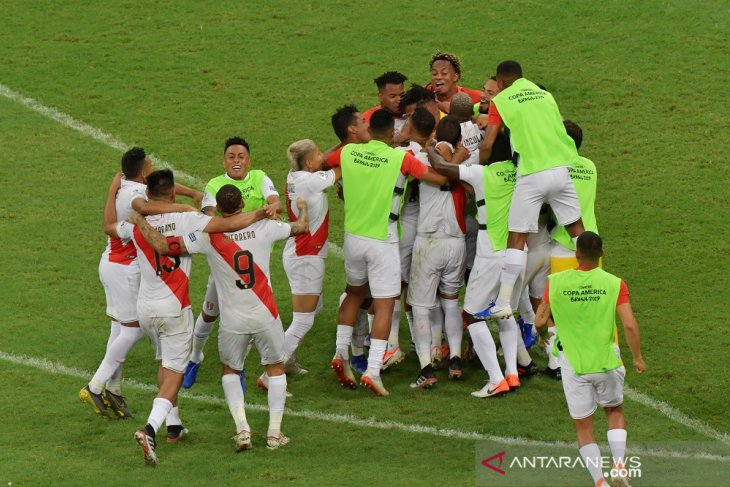 Ringkasan perempat final Copa America 2019