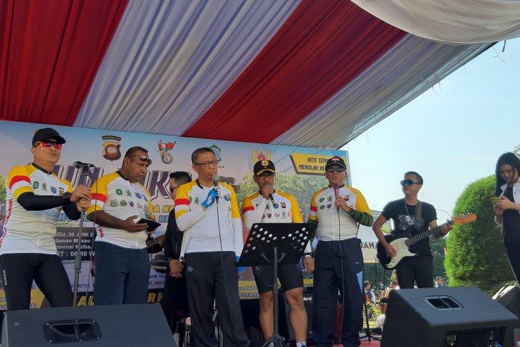 Fun Bike HUT Bhayangkara - Bank Kalbar berhadiah mobil