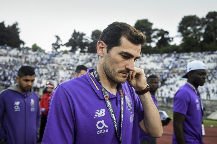 Pascaserangan jantung, Casillas kembali gabung skuat Porto