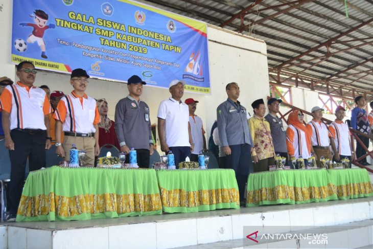 Delapan Tim Ikuti GSI Kabupaten Tapin Tingkat SMP