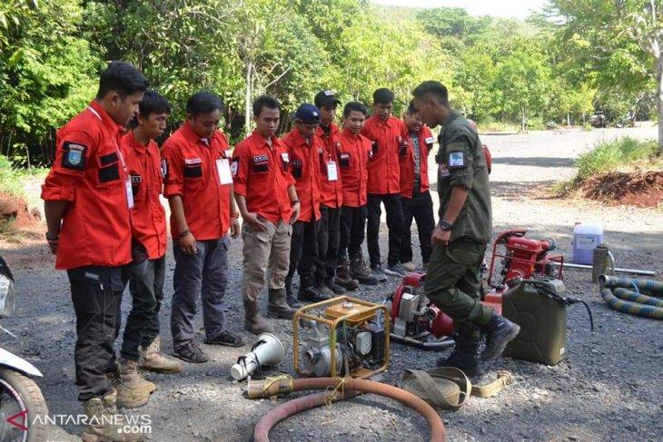 Relawan PMI Banjar dilatih penanggulangan kebakaran hutan serta lahan
