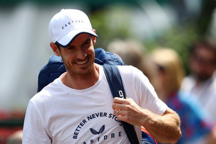 Murray lawan Gasquet saat kembali bermain nomor tunggal