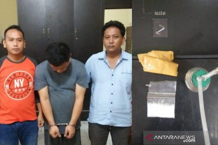 Satres Narkoba Polres Tanjungbalai ringkus pria konsumsi sabu