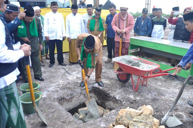 Pembangunan Pontren Nurul Ghufron Ketapang dimulai