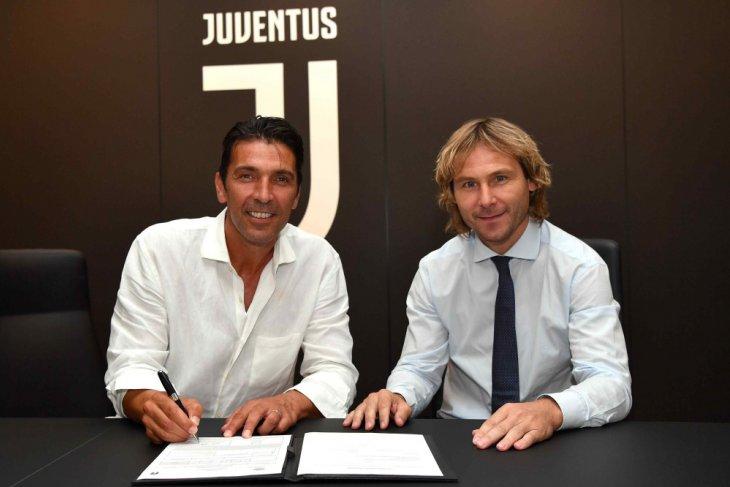 Gigi Buffon balik ke Juventus