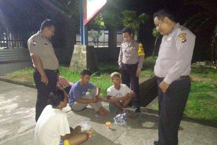 Polisi Sektor Kelapa giatkan pengawasan lokasi rawan