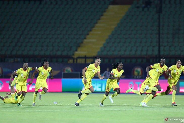 Benin ukir sejarah lolos perdana ke perempat final Piala Afrika