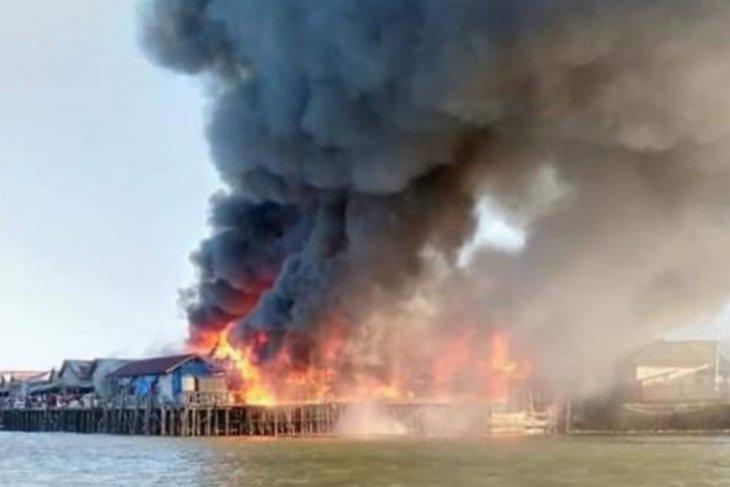 50 Kios di Pasar Sangkulirang Ludes Dilahap Api