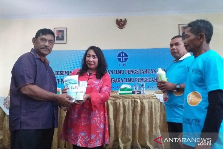 LIPI ajak petani di Kabupaten Belitung gunakan pupuk organik