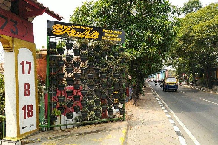 Kampung Pingli Tangerang jadi lokasi edukasi PHBS